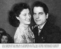 Giuseppe Pinelli con la moglie Licia