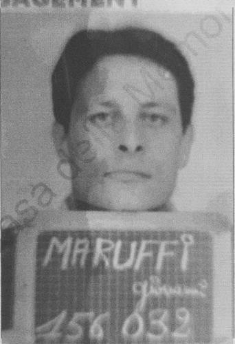 Giampietro Mariga con il cognome Maruffi assunto nella Legione Straniera