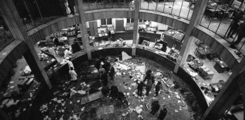 strage piazza Fontana - interno banca