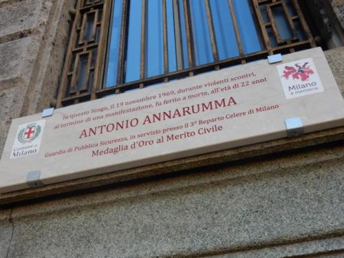 TARGA ANTONIO ANNARUMMA