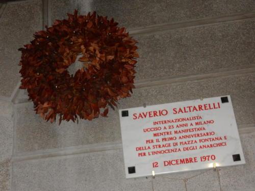 TARGA SAVERIO SALTARELLI