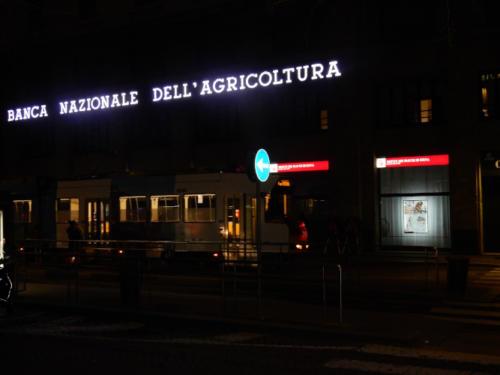 piazza Fontana,sera  2020 Foto Guido Salvini